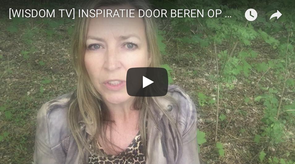 INSPIRATIE DOOR BEREN OP DE WEG